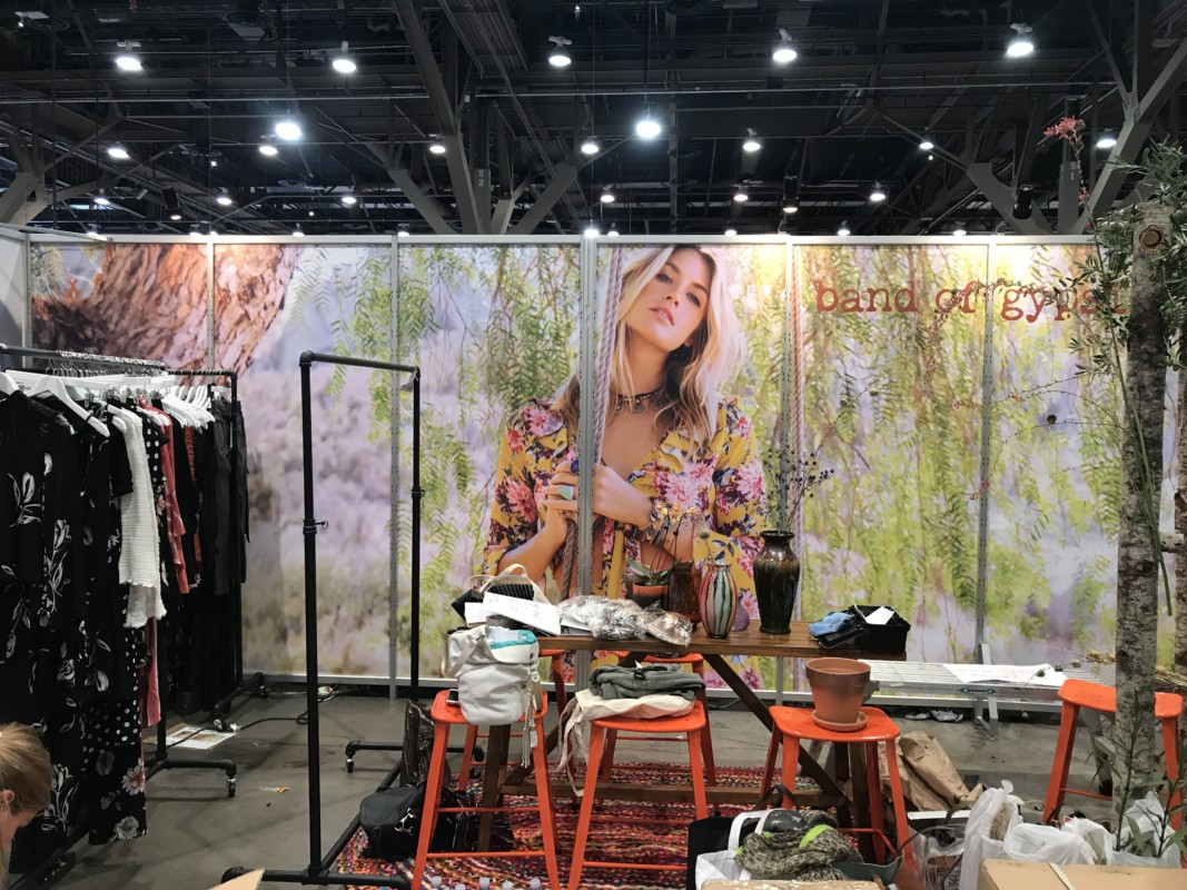 Trade Show Graphics Installation