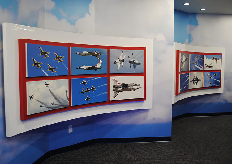 Thunderbirds Museum display
