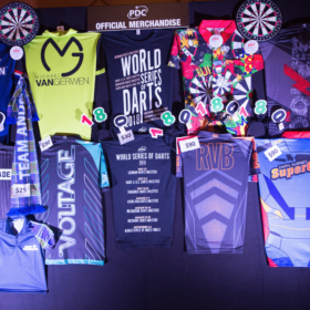 US Masters Darts Merchandising Wall